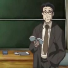 School Days Teacher Character Profile Picture