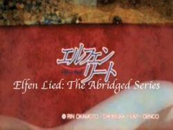 Elfen Lied- The Abridged Series logo