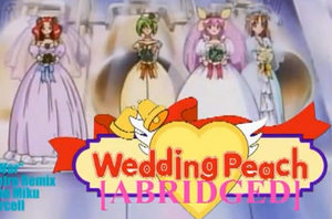 Wedding Peach abridged title block