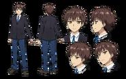 Tooru Kokonoe Character Design