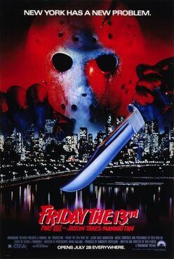 Friday the 13th Part VIII - Jason Takes Manhattan poster