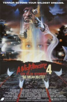 A Nightmare on Elm Street 4 - The Dream Master poster