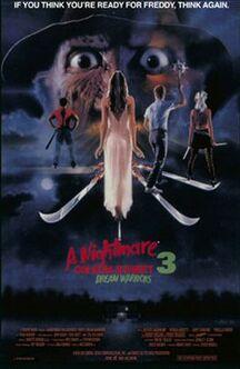 A Nightmare on Elm Street 3 - Dream Warriors poster