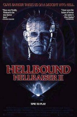 Hellbound Hellraiser II poster