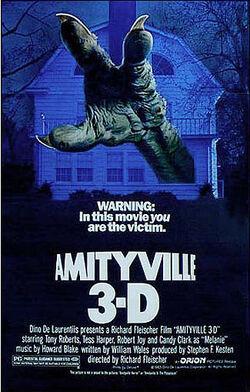 Amityville 3-D poster