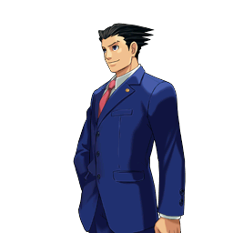 File:PXZ2 Phoenix Wright (full) - smiling (left).png