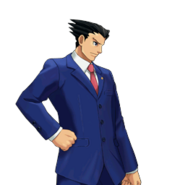 PXZ2 Phoenix Wright (full) - determined (right)