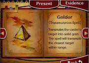 Goldor spell