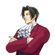 PXZ2 Miles Edgeworth (zoom) - thinking
