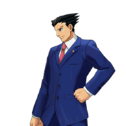 PXZ2 Phoenix Wright (full) - determined (left)