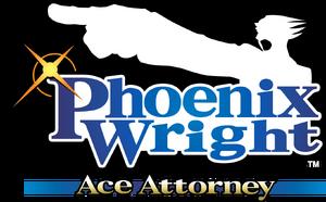 Logotipo del primer juego de la saga, Phoenix Wright: Ace Attorney