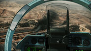Su-47 Cockpit Veiw
