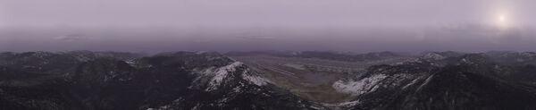 Avalon Dam Panorama