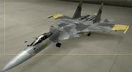 Su-37 Mercenary color hangar