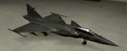 Gripen C Knight color hangar