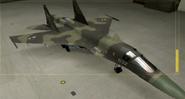 Su-34 Special color hangar