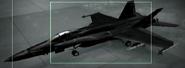 F A -18C Razgriz color Hangar