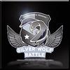 Silver Wolf Battle Emblem Icon