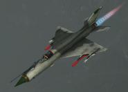 MiG-21bis Event Skin -03 Flyby