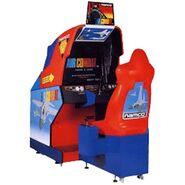 Air Combat Arcade Cabinet