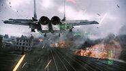 F-15E over Derbent