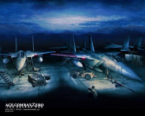 Valais F-15C Wallpaper 1280x1024