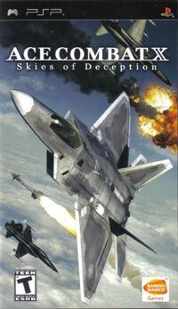 Ace Combat X Box Art North America