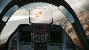 YF-23 Assault Horizon Cockpit 2