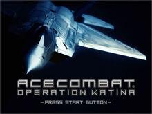 Operation Katina Start Screen