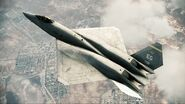 YF-23 Assault Horizon Color 1 Flyby 2