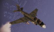 EA-6B Schnee Skin Flyby