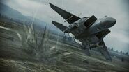 F-15E Strike Eagle over Derbent