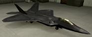 F-22A Mercenary color hangar