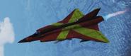 "J35J Draken ""Espada"" Skin Flyby"