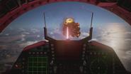 AC7 F-15E TLS Cockpit View