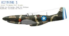 P-51D Kitsune 1944