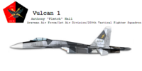 """209th Tactical Fighter Squadron """"Vulcan"""""""
