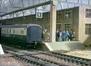 Passengers train left behind