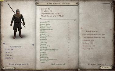 Elite Reach Pikeman