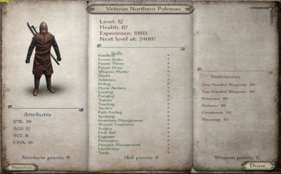 Veteran Northern Poleman