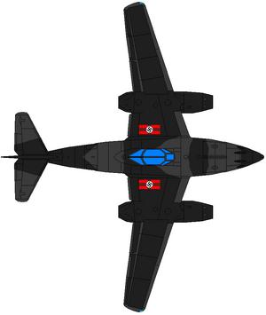 ME-262D Stern Haifisch