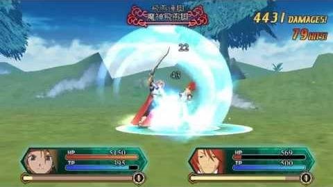 Tales of ACS3D v0.801 Cless Alvein Infinite Combo (94 Hits)