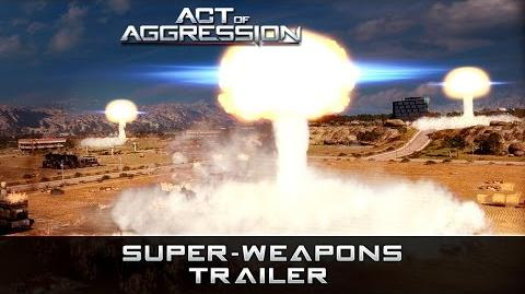 ACT OF AGGRESSION SUPERWEAPONS TRAILER