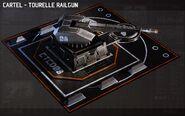 AoA Concept Railgun Turret