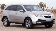 2010 Acura MDX -- NHTSA