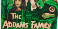 The Addams Family horror make-up kit