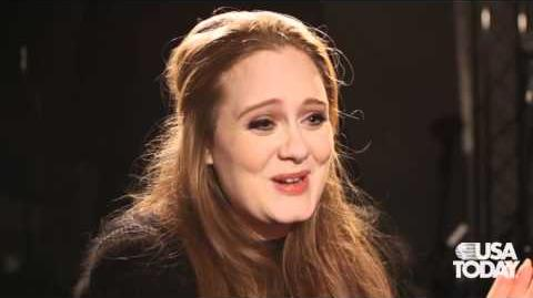 Five Questions for British singer Adele