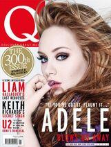 Adele Q Magazine Cover