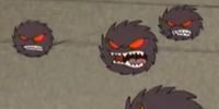 Hairball Monster