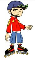 Jake Long season 1 Skate attire